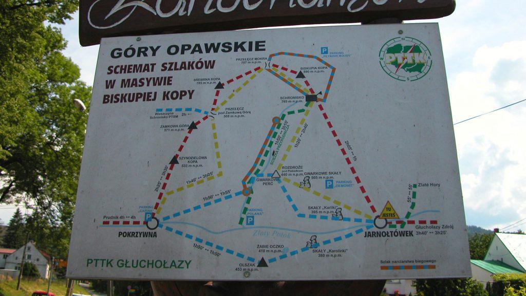 Gory Opawskie Map