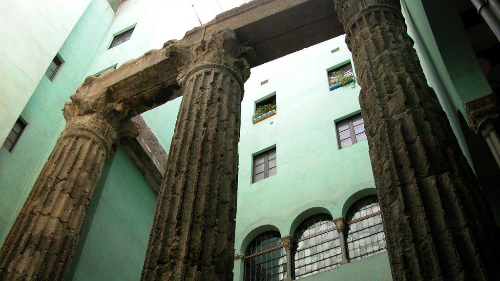 The Roman Temple of Augustus