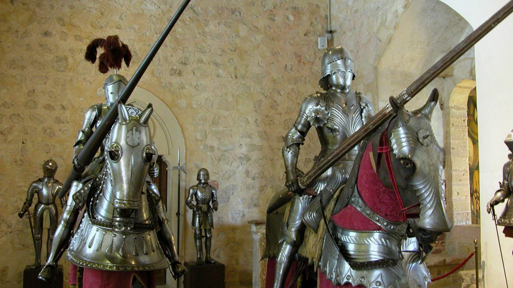 Alcazar of Segovia Knight Display