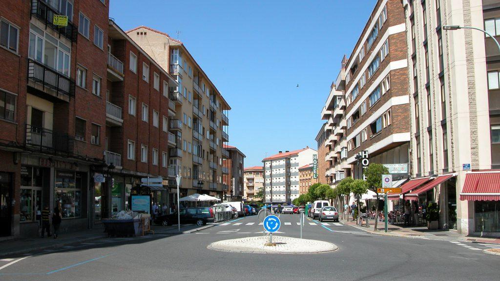 Avila Train Station Streets