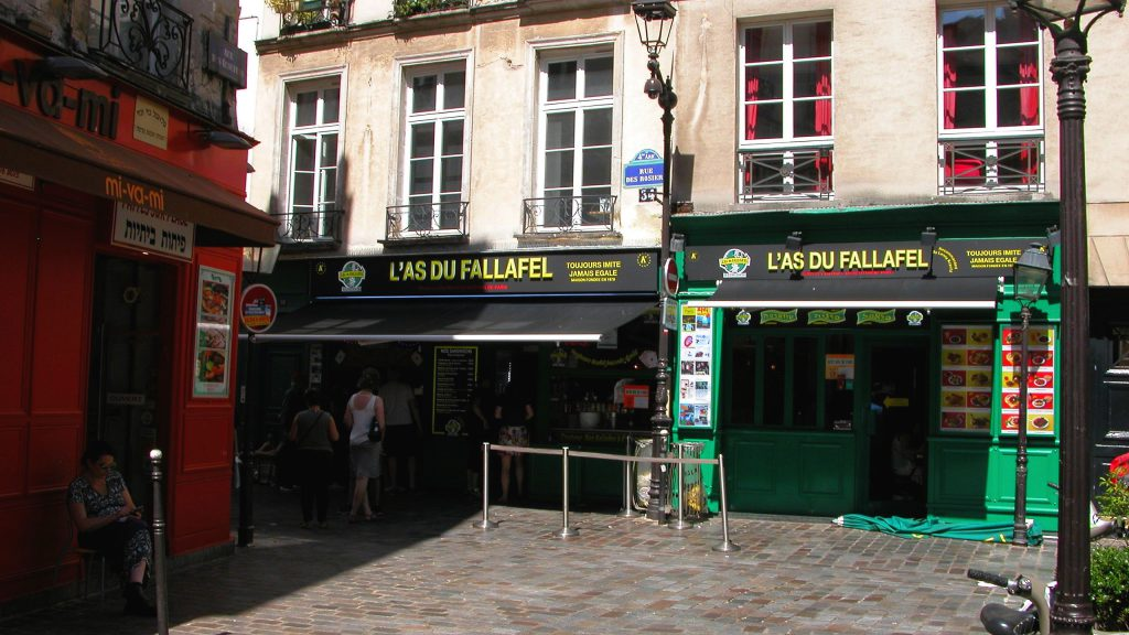 Famous Fallafel in Paris