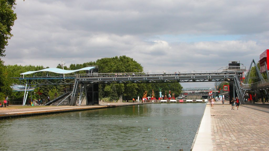 La Villette bridges