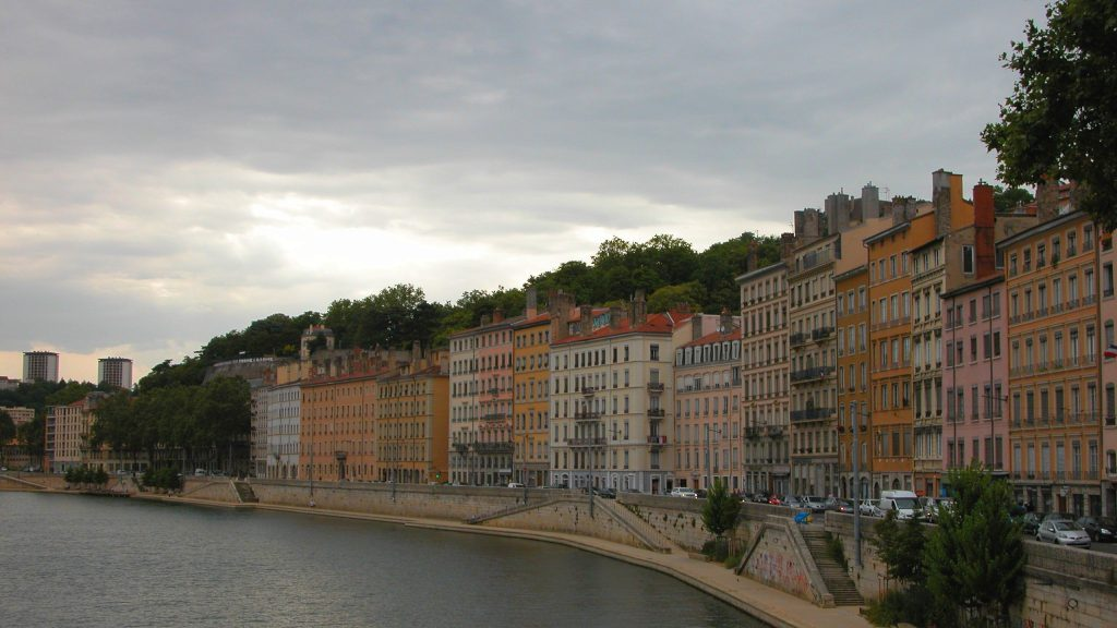 River in Lyon