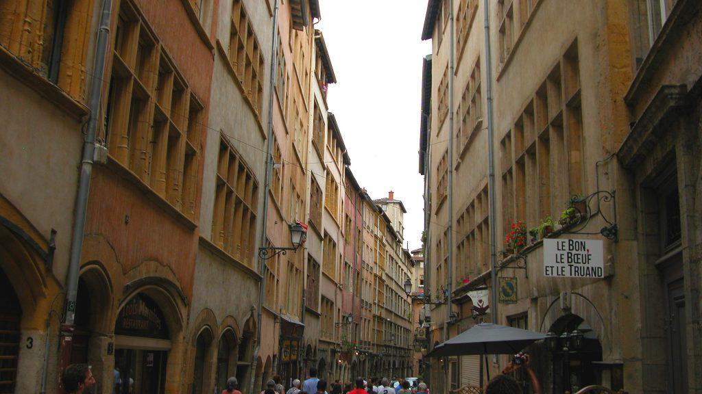 Streets in Lyon