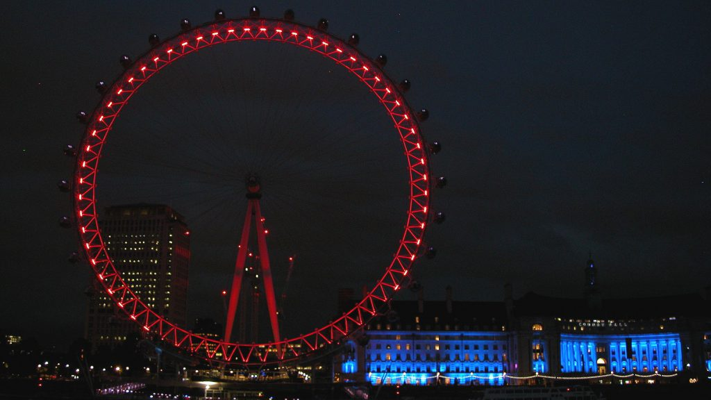 The London Eye at Night