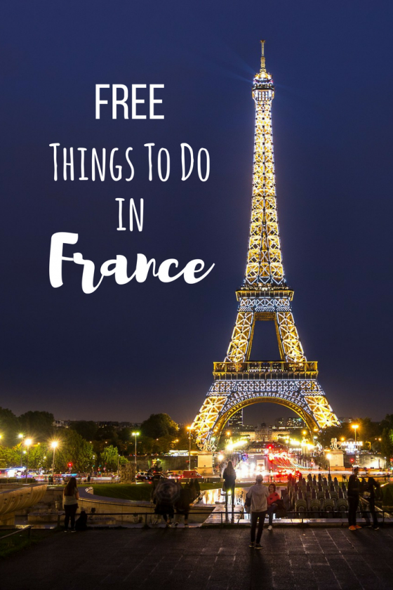 Tons are free and awesome things to do in Paris and Lyon for FREE. There are also general tips about food and transportation to help you travel on a budget. France, a popular tourist destination, does not have to be expensive if you are smart about it.  If you haven't visited France, you should make plans to. Pin for future reference.