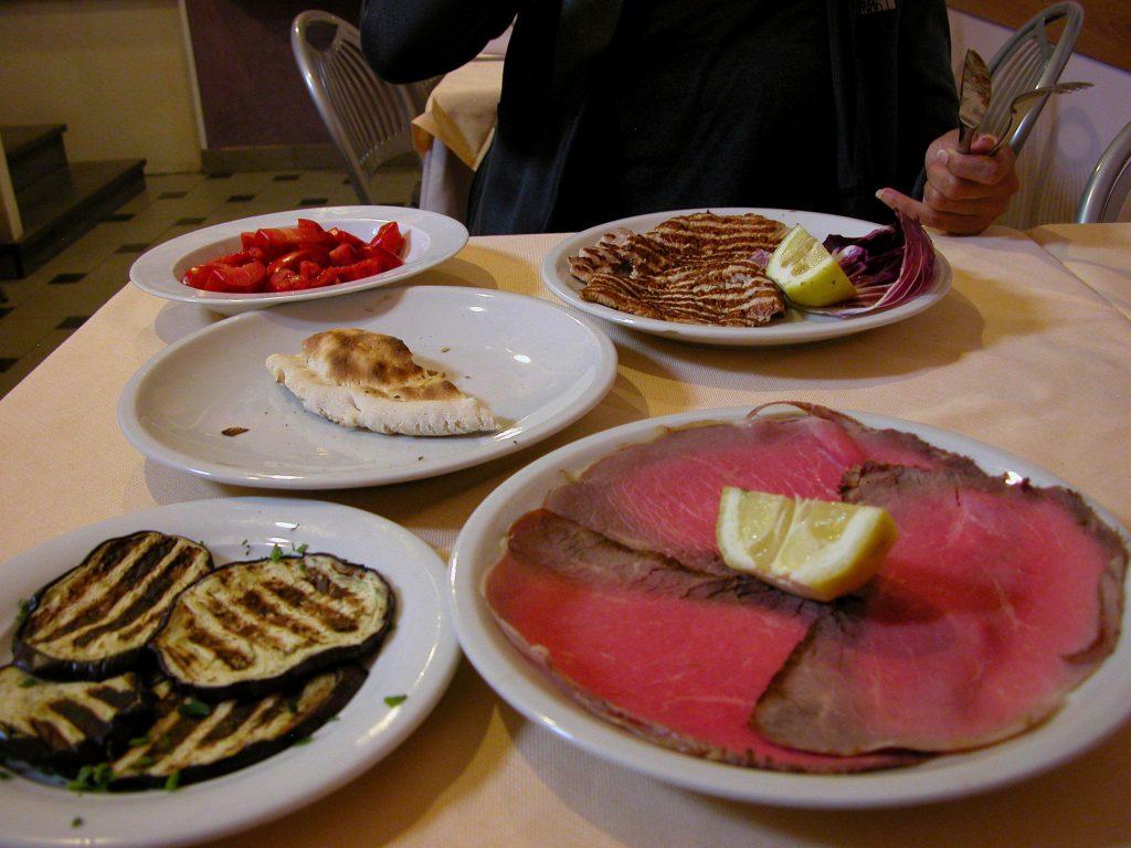 Becco Fino lunch set