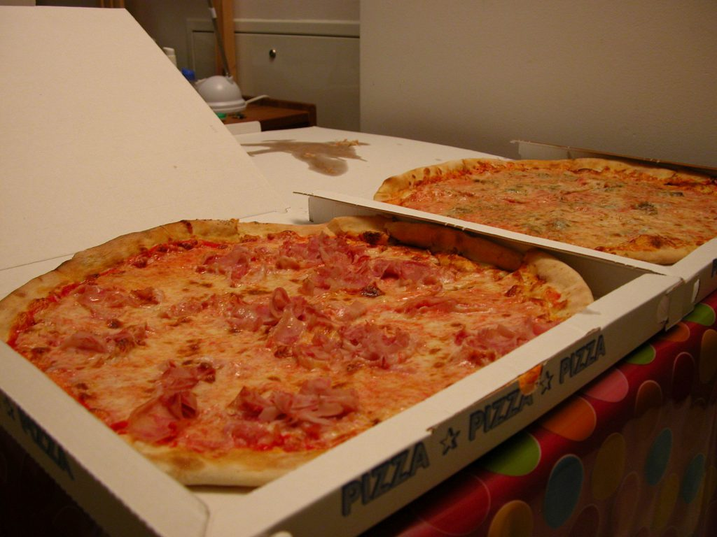 Blu Marina pizza