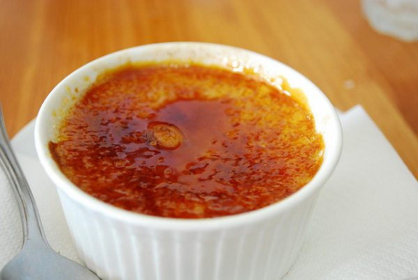 Creme brulee - https://www.flickr.com/photos/avlxyz/4860111256
