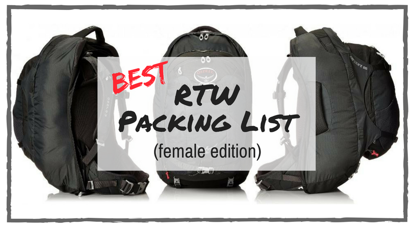 Ultimate Travel Checklist (Women's Packing List)