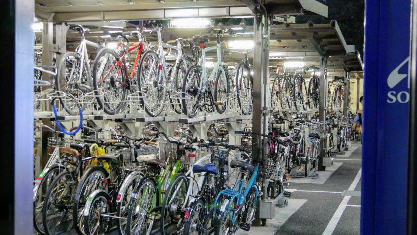 Japan bike racks