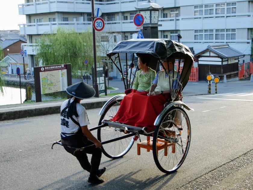 Rickshaw riders Nara Japan