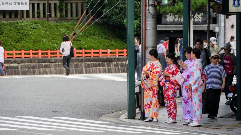 Kyoto Japan yukata