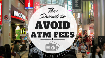Cover photo for the secret to avoid atm fees