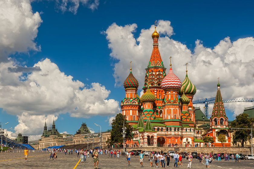 St. Basil's Cathedral, Russia
