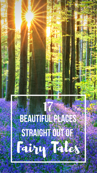 We all dream about far away mythical lands that we hope to one day visit. Whether it's the landscapes of Middle Earth or the forests in fairy tales, not all the places we dream about are real. But don't give up hope! We've compiled a list of places that looks like they jumped straight out of fairy tales and into reality. These are places from all around the world, so who knows, maybe you'll find your fairy tale right in your backyard.