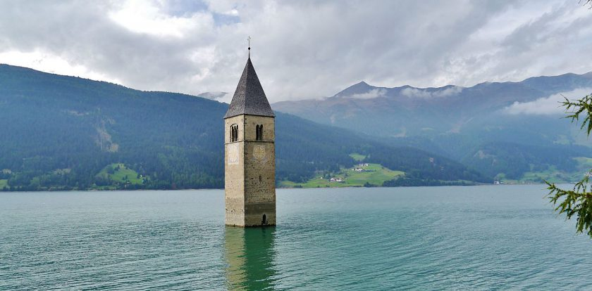 Lake Reschen, Italy