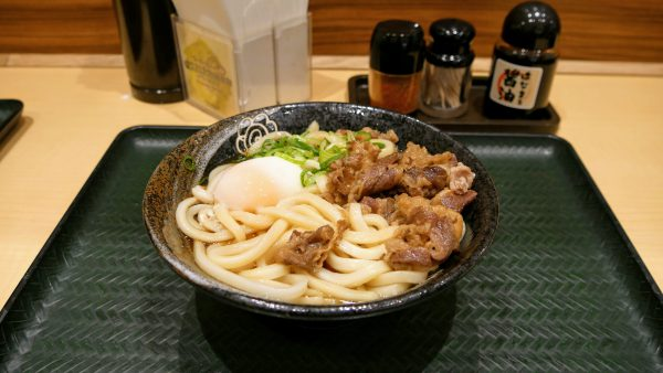 udon noodles in Osaka Japan
